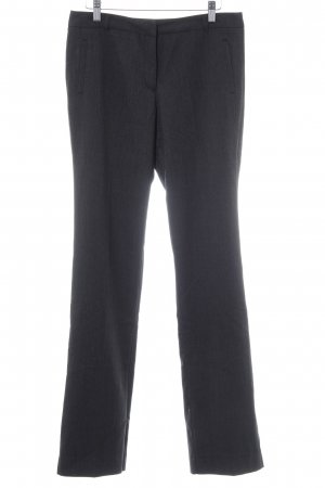 Zero Bundfaltenhose schwarz-anthrazit meliert Business-Look