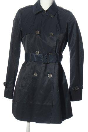 Zero Marynarski płaszcz niebieski W stylu casual