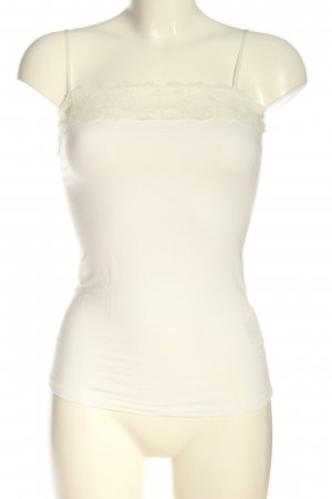 Zero Camisole wit casual uitstraling
