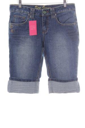 Zero Caprihose graublau Jeans-Optik
