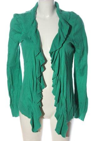 Zero Cardigan verde stile casual
