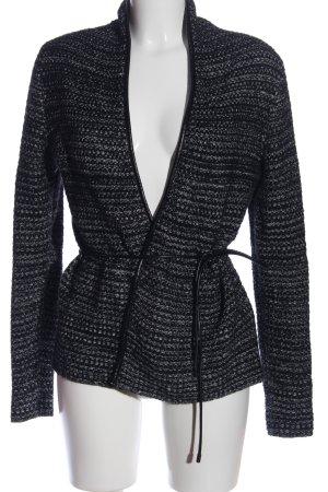 Zero Cardigan schwarz-weiß Casual-Look