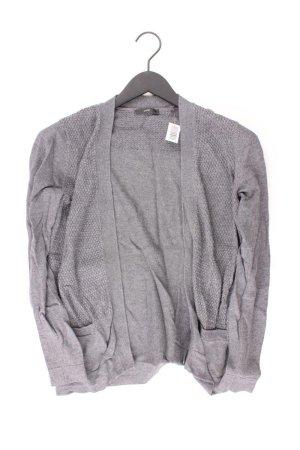 Zero Cardigan Größe 38 grau aus Viskose