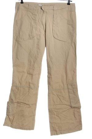 Zero Pantalón de camuflaje crema look casual