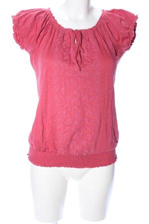 Zero Carmenshirt pink Casual-Look