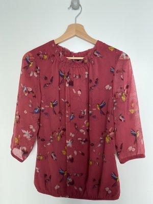 Zero Ruche blouse veelkleurig