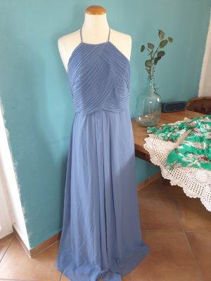 Zero Chiffonkleid Gr. 40 mit Pliseè Abendkleid