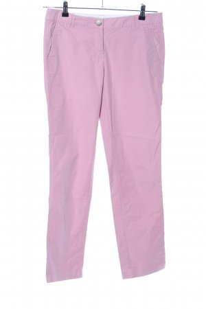 Zero Chinohose pink Casual-Look