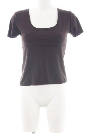 Zero Cropped Shirt braun Business-Look