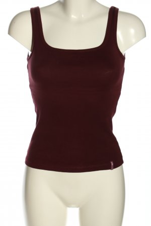 Zero Cropped Top braun Casual-Look