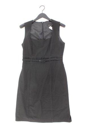 Zero Etuikleid Größe 40 mit Gürtel Träger schwarz aus Polyester