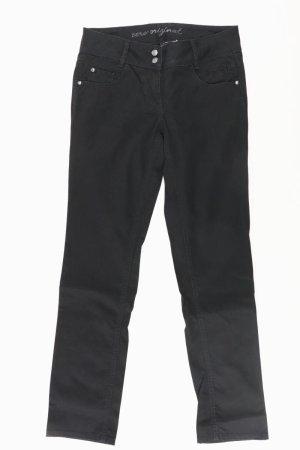Zero Pantalone cinque tasche nero