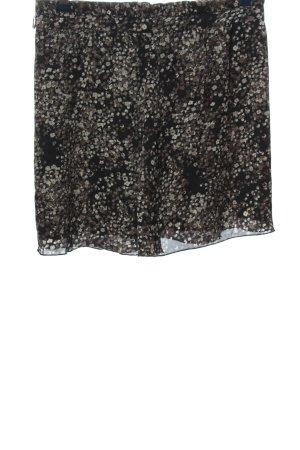 Zero Glockenrock schwarz-braun grafisches Muster Casual-Look
