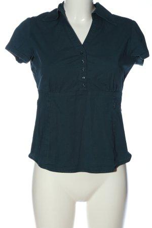 Zero Hemd-Bluse blau-grün Casual-Look