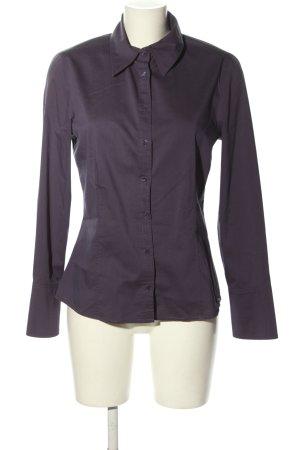 Zero Hemd-Bluse lila Business-Look