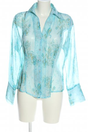 Zero Hemd-Bluse Blumenmuster Business-Look