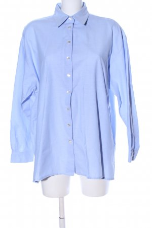 Zero Hemd-Bluse blau Business-Look