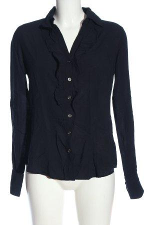 Zero Hemd-Bluse schwarz Business-Look