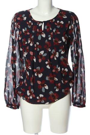 Zero Blusa-camisa estampado floral look casual