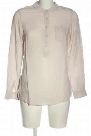 Zero Hemd-Bluse wollweiß Business-Look