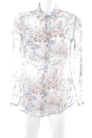 Zero Hemd-Bluse Blumenmuster Casual-Look