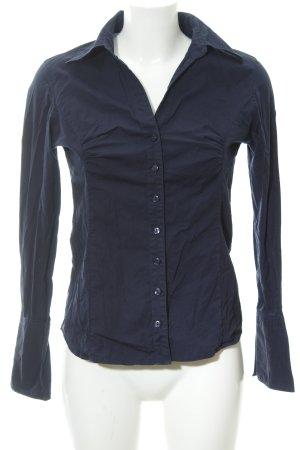 Zero Hemd-Bluse dunkelblau Business-Look