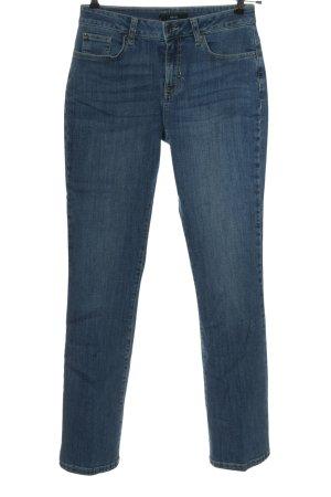 Zero Jeansy z wysokim stanem niebieski W stylu casual