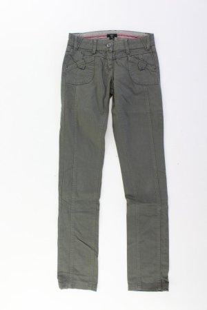 Zero Jeans Größe 34 olivgrün aus Baumwolle