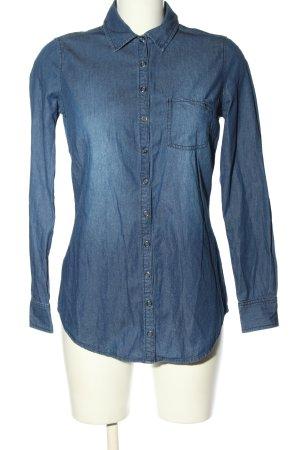 Zero Jeanshemd blau Casual-Look