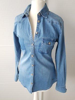 Zero Denim Shirt cornflower blue