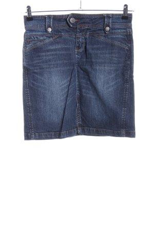 Zero Jeansrock blau Casual-Look
