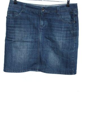 Zero Gonna di jeans blu stile casual