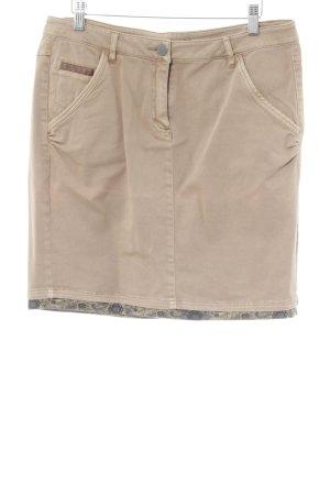 Zero Jeansrock beige Casual-Look