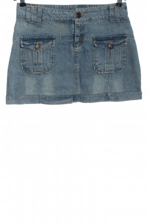 Zero Jeansrock blau Street-Fashion-Look