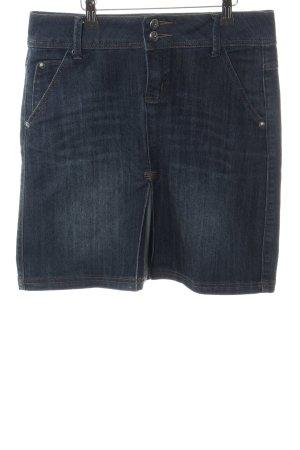 Zero Jupe en jeans bleu style décontracté