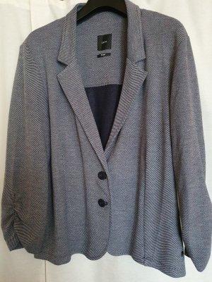 Zero Jersey blazer wit-blauw