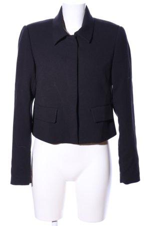 Zero Jersey blazer zwart zakelijke stijl