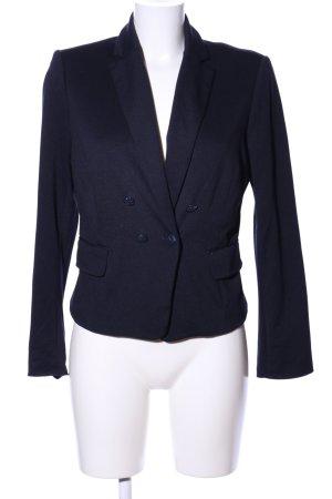 Zero Jerseyblazer blau Business-Look