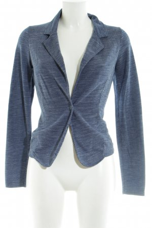 Zero Jerseyblazer blau meliert Business-Look