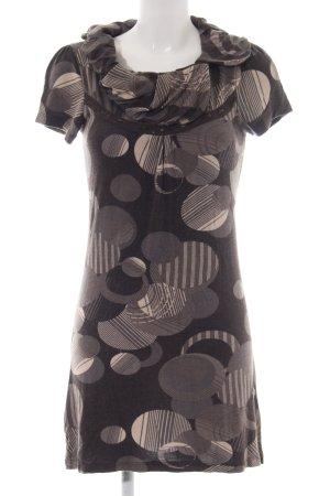 Zero Jerseykleid grafisches Muster Casual-Look