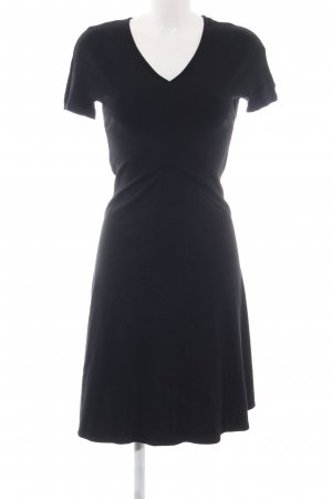 Zero Jerseykleid schwarz Business-Look