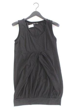 Zero Jerseykleid Größe 42 Ärmellos schwarz aus Baumwolle