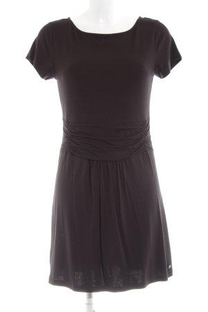 Zero Jerseykleid schwarz schlichter Stil