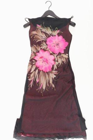 Zero Kleid mit Blumenaufdruck schwarz Größe 36