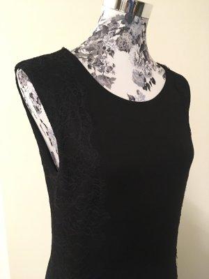 Zero Kleid schwarz mit Spitze Gr.38