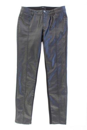 Zero Faux Leather Trousers black polyurethane