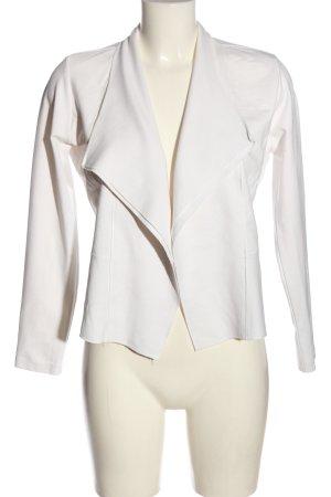 Zero Korte blazer wit casual uitstraling