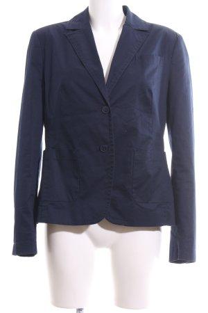 Zero Kurz-Blazer blau Business-Look