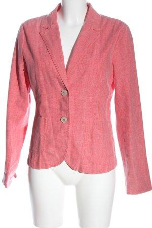 Zero Blazer corto rosa moteado estilo «business»