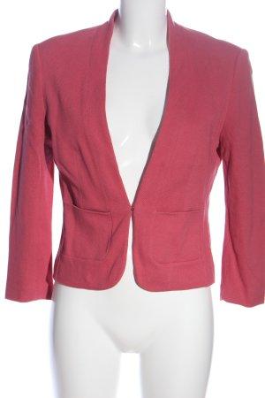 Zero Kurz-Blazer pink meliert Casual-Look